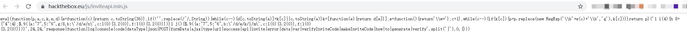 hackthebox渗透测试网站CTF练习注册获得邀请码方法插图2