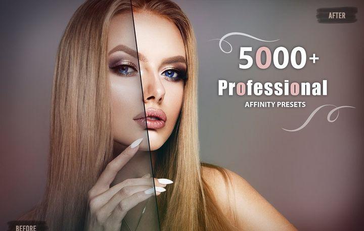 【P311】5000+Affinity LUT预设无人机旅拍人像婚礼电影胶片LUTs预设合集