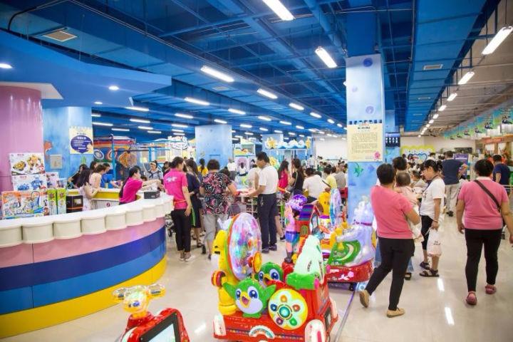 在二三线城市的商场开儿童乐园需要多少钱? 加盟资讯 游乐设备第2张