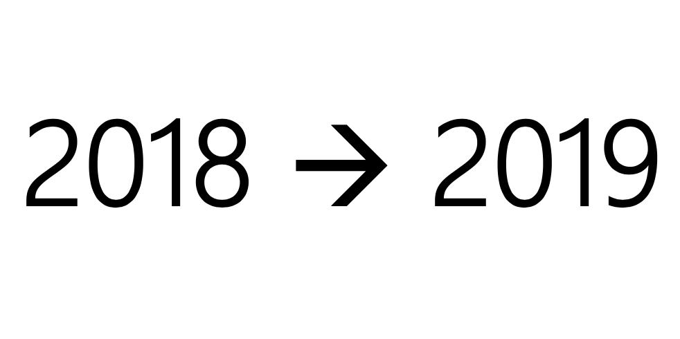 2018-2019,盖个时间戳