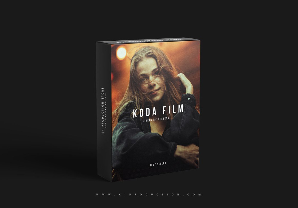 【P298】 经典柯达电影胶片LR预设 K1 PRODUCTION Koda Film Cinematic Presets