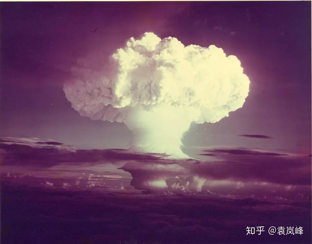 中国最大的氢弹威力_于敏与氢弹(一)氢弹的科学原理   袁岚峰 - 知乎