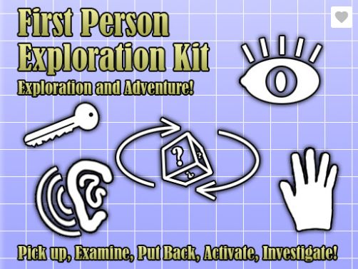 【Unity插件】First Person Exploration Kit 插件 官方文档翻译