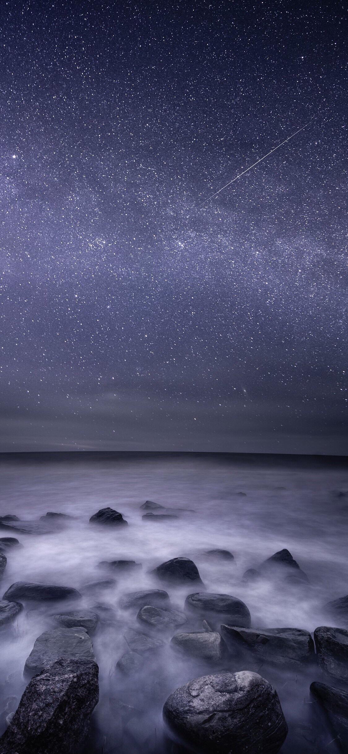 夜空(手机壁纸)